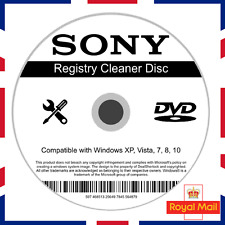 SONY Registry Cleaner Software Fix Windows 7/8/10 Speed Up PC Slow Errors System