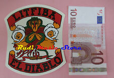 ADESIVO STICKER LITFIBA el diablo PELU'13X10 CM** no cd dvd lp mc vhs promo live