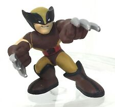 Marvel Super Hero Squad WOLVERINE Smiling Brown / Orange Uniform