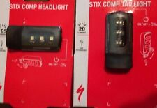 Specialized Stix COMP LED Headlight & Tail Light Bicycle Lights USB charging