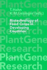 Plant Gene Research: Biotechnology of Food Crops in Developing Countries by...