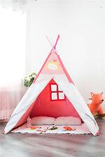 Wigwam Teepee Tent  Girl Baby Play Tent Garden Game Child  Garden Outdoor Indoor