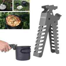 Outdoor Aluminum Camping Pot Gripper Cookware Backpacking Picnic Clip Hand Clamp