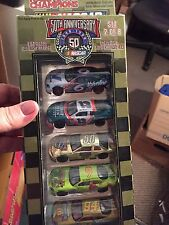 1998 RACING CHAMPIONS 50TH ANNIVERSARY SET #2 OF 8 FAN APPRECIATION 5 - CAR PACK