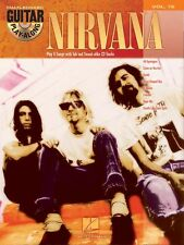 Guitar Play-Along Nirvana Learn to Play Lithium TAB Music Book & CD