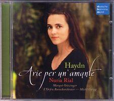 Nuria RIAL: HAYDN Arie Per Un'Amante Margot OITZINGER Michi GAIGG CD DHM 2009