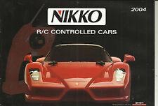 Katalog Nikko 2004 RC Cars Modelle 1:6 1:10 1:12 1:14 1:16 1:24
