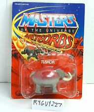 MOTU, Tuskor, Masters of the Universe, MOC, carded, Meteorbs, sealed, He-Man