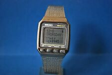 VINTAGE SEIKO LCD UW02-0010 AO. MEMO DIARY. DOT MATRIX  DISPLAY PANEL.  V.V.RARE