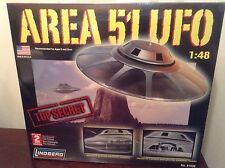 Area 51 UFO 1:48 Scale Plastic Lindberg Model Kit No. 91006 Alien Flying Saucer