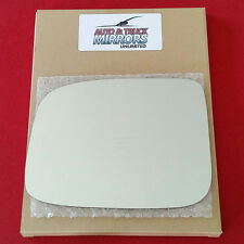 NEW Mirror Glass + ADHESIVE COLORADO CANYON PICKUP TRUCK Driver Side *FAST SHIP*