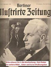 1936 Geburtstagszeitung BIZ Zeitung vom / zum 80. Geburtstag Geschenk Jubiläum