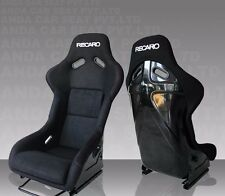 Recaro Bride Style Seats Replica and Adjustable sold as PAIR black