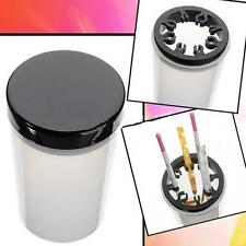 Nail Art Tip Brush Holder UV Gel Pen Polish Remover Cleanser Cup Kit Bottle Tool
