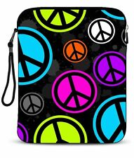 "Peace Sign 9.7""10 ''10.1"" Sleeve Bag Case Cover for Netbook iPad Tablet Laptop"