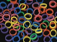 "NEON - 1/8"" HEAVY 4.5 oz - ORTHODONTIC ELASTIC - BRACES - DENTAL RUBBER BANDS"