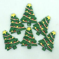5pcs Color Christmas Tree Starembellishment scrapbooking gift