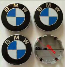 Set Of 4 BMW Alloy Wheel Centre Caps 68MM Fits Most Models 1 3 5 6 7 Series