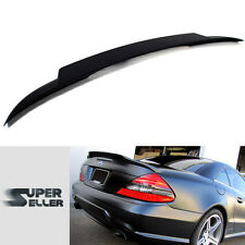 Painted Mercedes Benz SL R230 Convertible Trunk Wing Spoiler V-Type 03-11