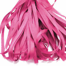 ONE METRE OF SOFT SILK RIBBON, FUCHSIA PINK COLOUR, 4 MM WIDE