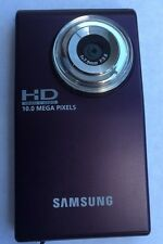 Samsung HMX-U10 Black Ultra-Compact Full-HD Video Camera Camcorder 10MP 1080p
