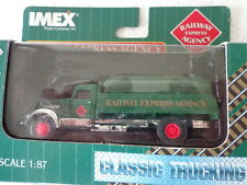 IMEX 1:87 SCALE DIE CAST RAILWAY EXPRESS AGENCY TANKER TRUCK