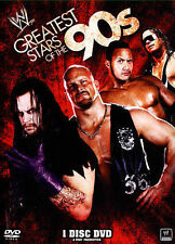 WWE GREATEST STARS OF THE 90'S DVD 1 DISC SET