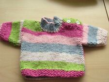 TINY  BABY HAND KNITTED jumper