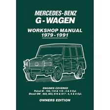 Mercedes-Benz G-Wagen Owners Workshop Manual 1979-1991  book paper
