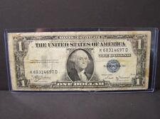 1935-B $1 DOLLAR SILVER CERTIFICATE (KEY DATE !!!!!!!!!) Lot 74