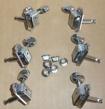 DISCOUNT 3 X 3 GUITAR TUNERS MACHINE HEADS PEGS VINTAGE STYLE