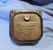 Vintage G.E.C. Bakelite Door Buzzer 5 - 8 volt - Adjustable Volume