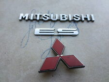 98-02 Mitsubishi Galant ES Liftgate MR339344 Decal MR416608 Logo Ornaments Set