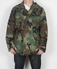 "M65 Camo US Army Field Jacket Medium 38"" 40"" 42'' Long Camouflage (A4L) 1999"
