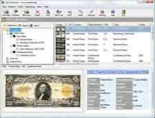 2016 USA Paper Money Collecting Software.  All USA Bank Notes With Values