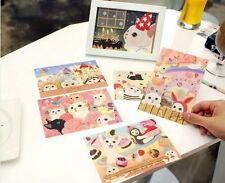 Korea Jetoy Choo Choo Cat Postcard Set x Any 18 sheets in random style