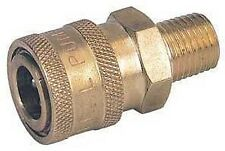 High Pressure washer Brass Hose quick connect 3/8 male coupler socket  NPT-M