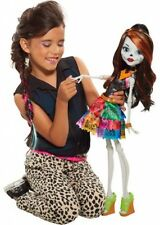 "Monster High 28"" Beast Freaky Friend Skelita Doll Figurine with Accesories Girls"