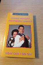 QUEEN FREDDIE MERCURY HOW CAN I GO ON RARE 1992 CASSETTE SINGLE.