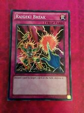 YUGIOH RAIGEKI BREAK SUPER GOOD VARIOUS ED LCYW-EN286