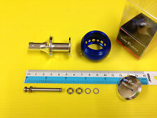 Surecatch Large Size Blue Color Handle Round Knob for Daiwa Spinning Reels.