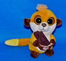 "SWEET! Meerkat w/Chocolate Candy Bar (Novelty) (Big Eyes) (6"") Plush Bean Bag"