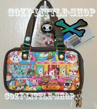NWT TOKIDOKI CARNIVAL *BACIO* Mini Bag/Wallet/Clutch ~Mozzarella+PIG+Unicorno+~