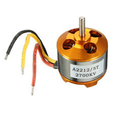New A2212/5T 2700KV Outrunner Brushless Motor For RC Aircraft Plane Quadcopter