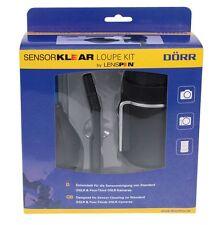 Dörr Sensor Klear Loupe Kit Sensorreinigungsset LED 6xLupe + Lenspen + Blower