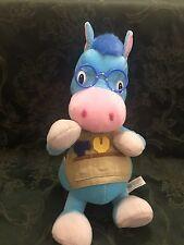 Blue Horse Doll Toy Mac Donald Farm 2000 14 in high Soft body Stuffed Animal Vtg