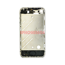 iPhone 4S Silver Plating Chrome Bezel Plate Frame Middle Mid Chassis Housing CAD