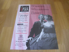 Travelling OPERA  10th Anniversary  Jul 1997 Theatre Royal BATH Original Poster