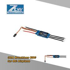 ZTW Beatles 30A 2-4S LiPo Battery Brushless ESC +5V/2A BEC for RC Airplane L9BF