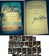 JOAN COLLINS THE ST.TROPEZ LONELY HEARTS CLUB A NOVEL & 100 PHOTOS 02/11/2015